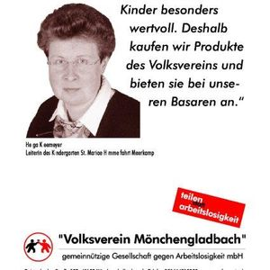 Helga Kleemeyer unterstützt die Testimonial Kampagne.