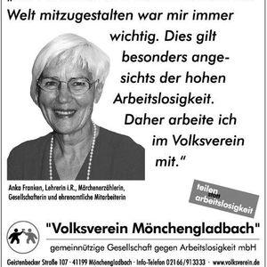 Anka Franken unterstützt die Testimonial Kampagne.