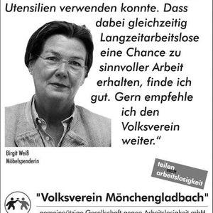 Birgit Weiß unterstützt die Testimonial Kampagne.