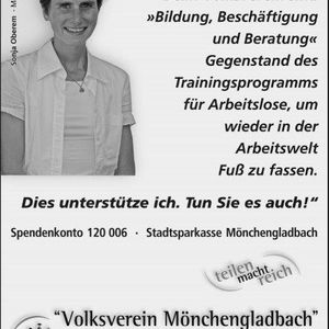 Sonja Oberem unterstützt die Testimonial Kampagne.