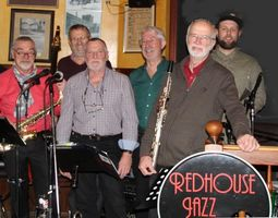 Musiker der Red House Jazzband