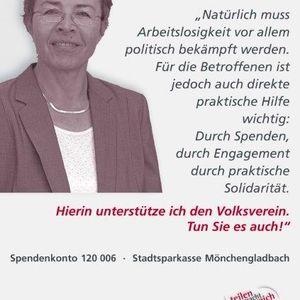 Prof. Dr. Marlo Riege unterstützt die Testimonial Kampagne.