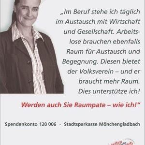 """Katrin Weith unterstützte die Kampagne """"Mehr Raum""""."""