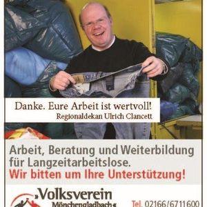 """Regionaldekan Ulrich Clancett unterstützt die Kampagne """"Danke, Deine Arbeit ist wertvoll."""""""