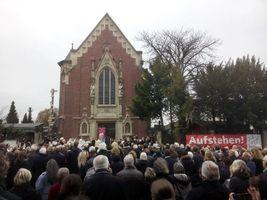 Beisetzung von Eddi Erlemann