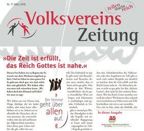 Volksvereinszeitung Ostern 2018